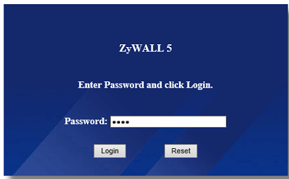 Zywall login