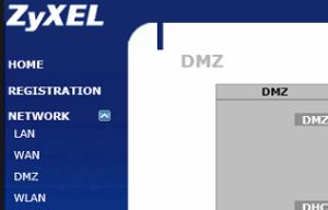 Network DMZ i Zywall