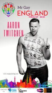 Mr Gay England Finalist Aaron Twitchen