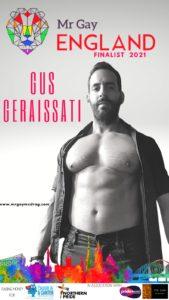 Mr Gay England Finalist Gus Geraissati