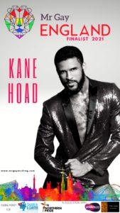 Mr Gay England Finalist Kane Hoad