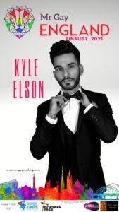 Mr Gay England Finalist Kyle Elson