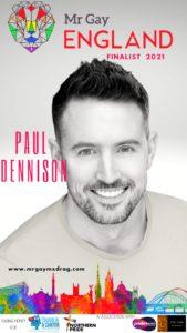 Mr Gay England Finalist Paul Dennison