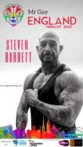 Mr Gay England Finalist Steven Barrett