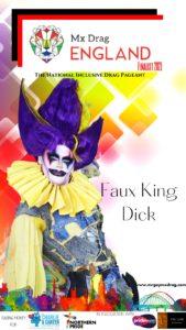 Mx Drag England Finalist Faux King Dick