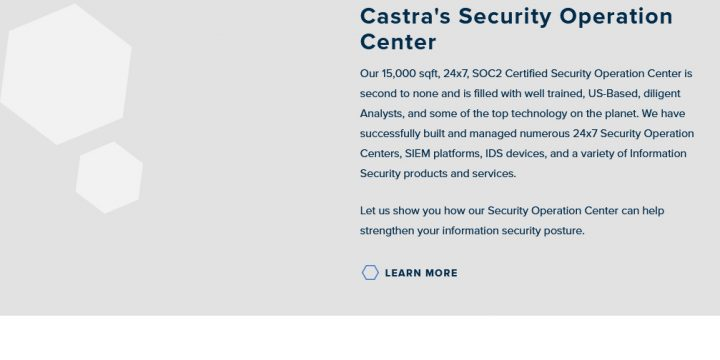 Castra Managed Services