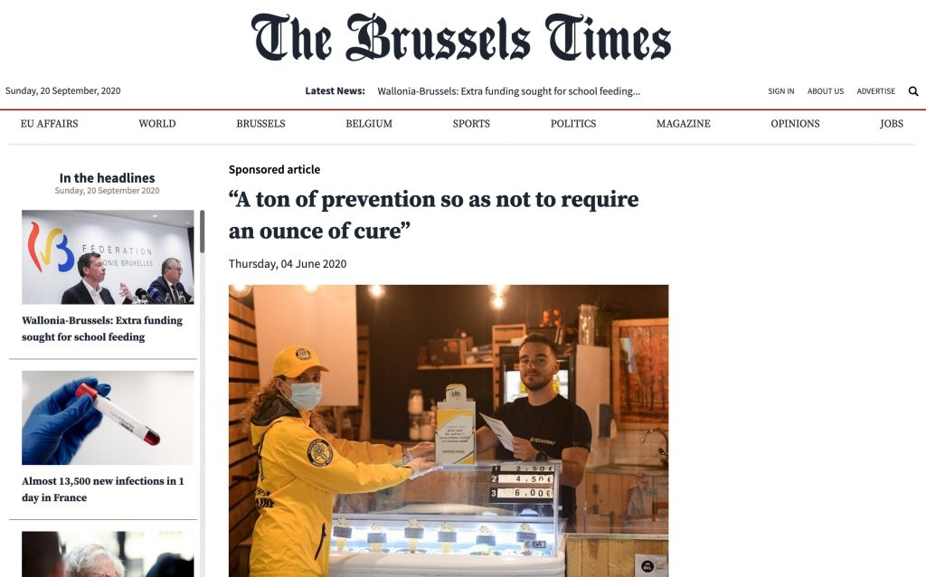 The Brussels Times - Ivan Arjona