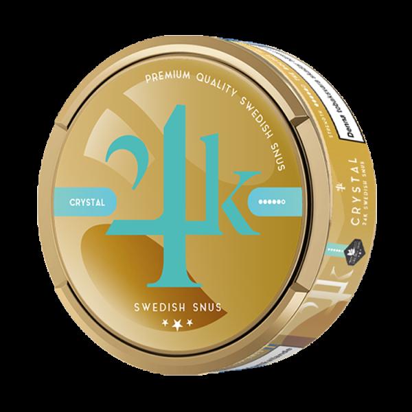 24k snus crystal svenskt snus