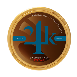 24k crystal strong snus
