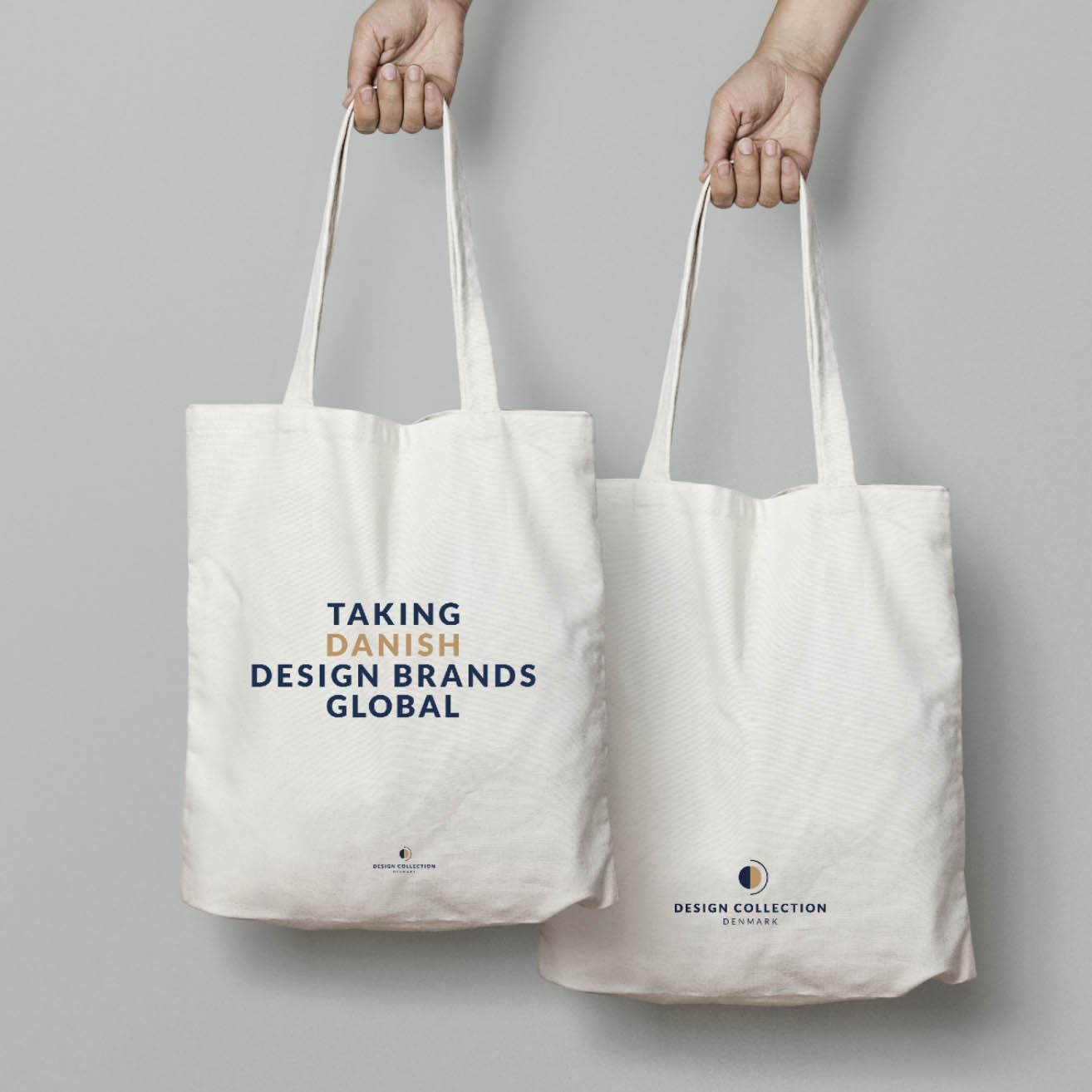 Design Collection Denmark totebag Ja-da