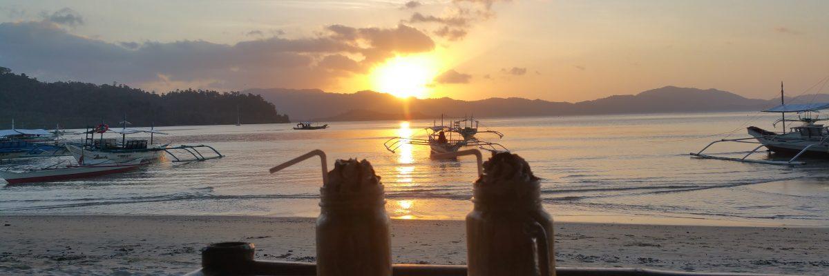 sunset port barton filipinas