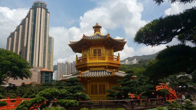 CHI LIN NUNNERY TEMPLE HONG KONG