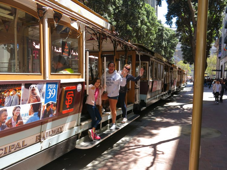 CABLE CAR SAN FRANCISCO CALIFORNIA