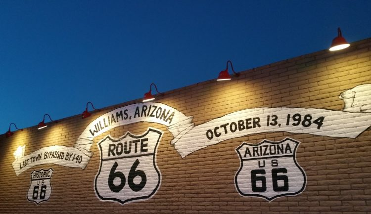 WILLIAMS (ROUTE 66) ARIZONA (USA)
