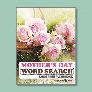 Mother's Day - Easy Word Search for people living with dementia - Freedom Puzzles