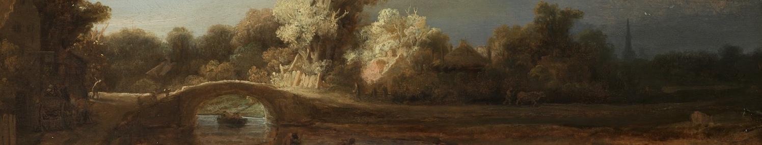Stone Bridge - Rembrandt - Jamie Stonebridge - Banner
