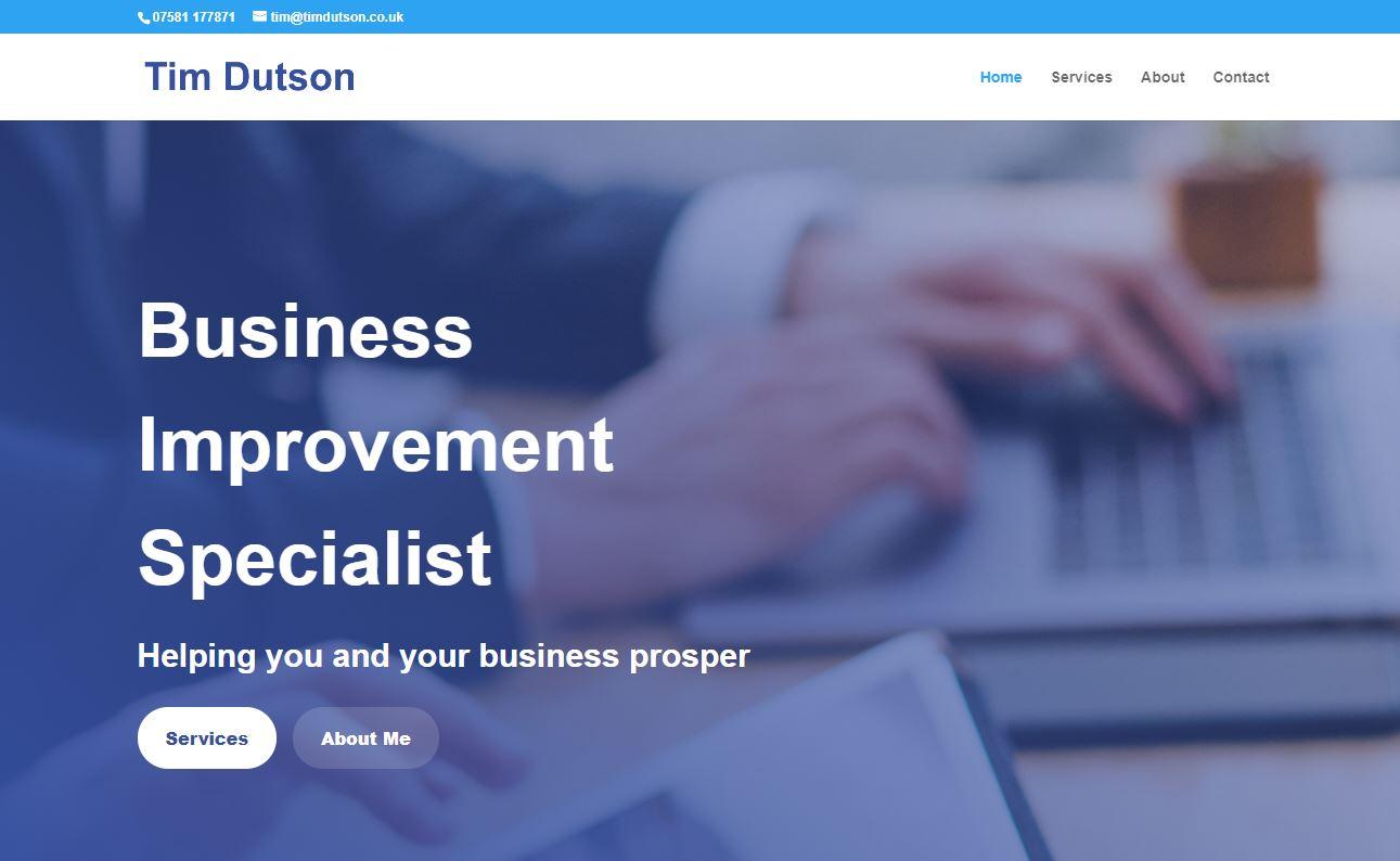 Tim Dutson Website