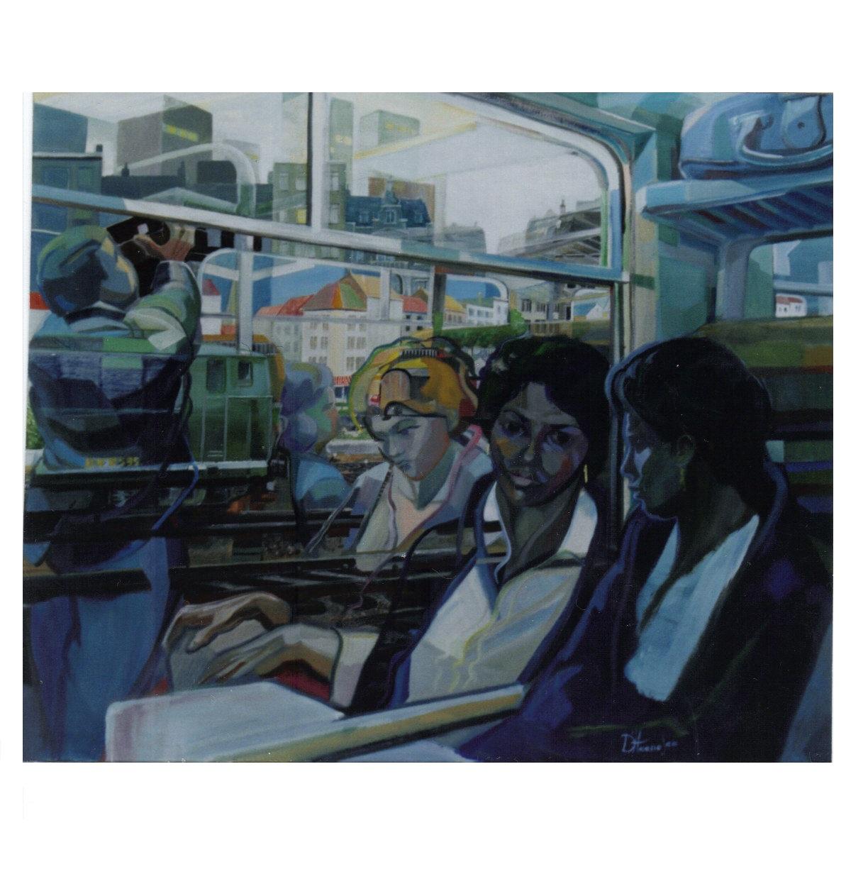 261 Marie Noellette op de trein