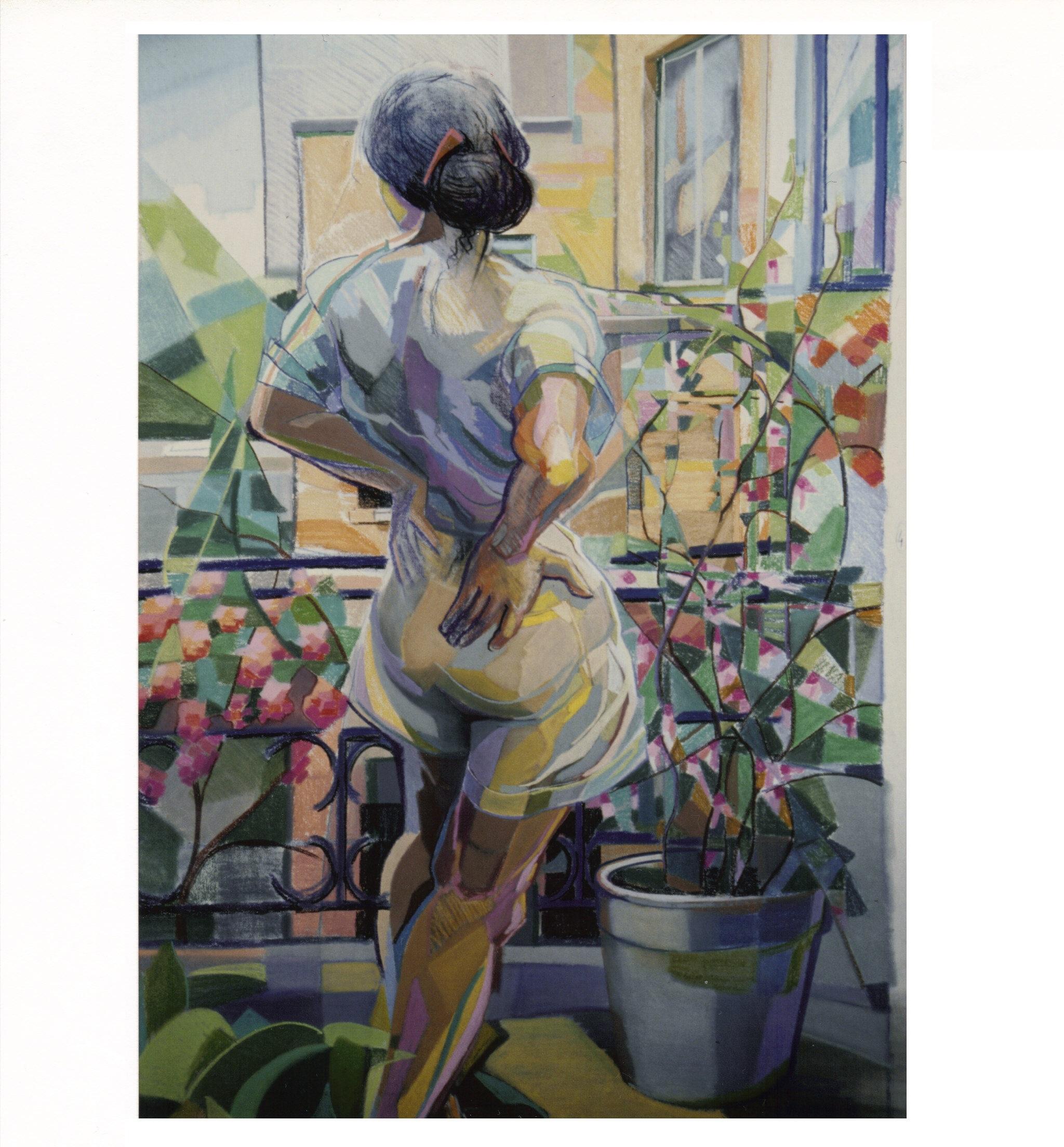281 Marie Noellette op het terras