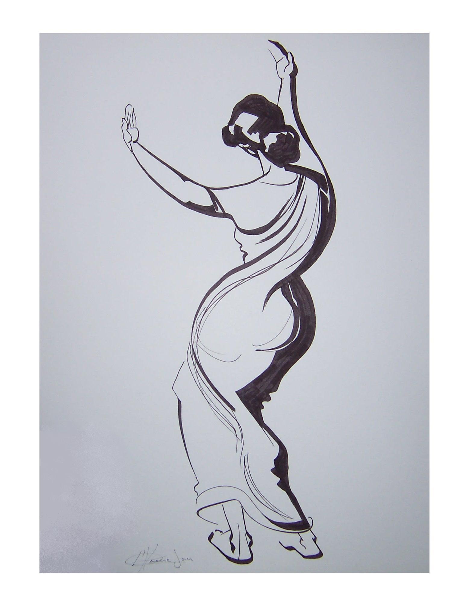579 Sega dansende vrouw