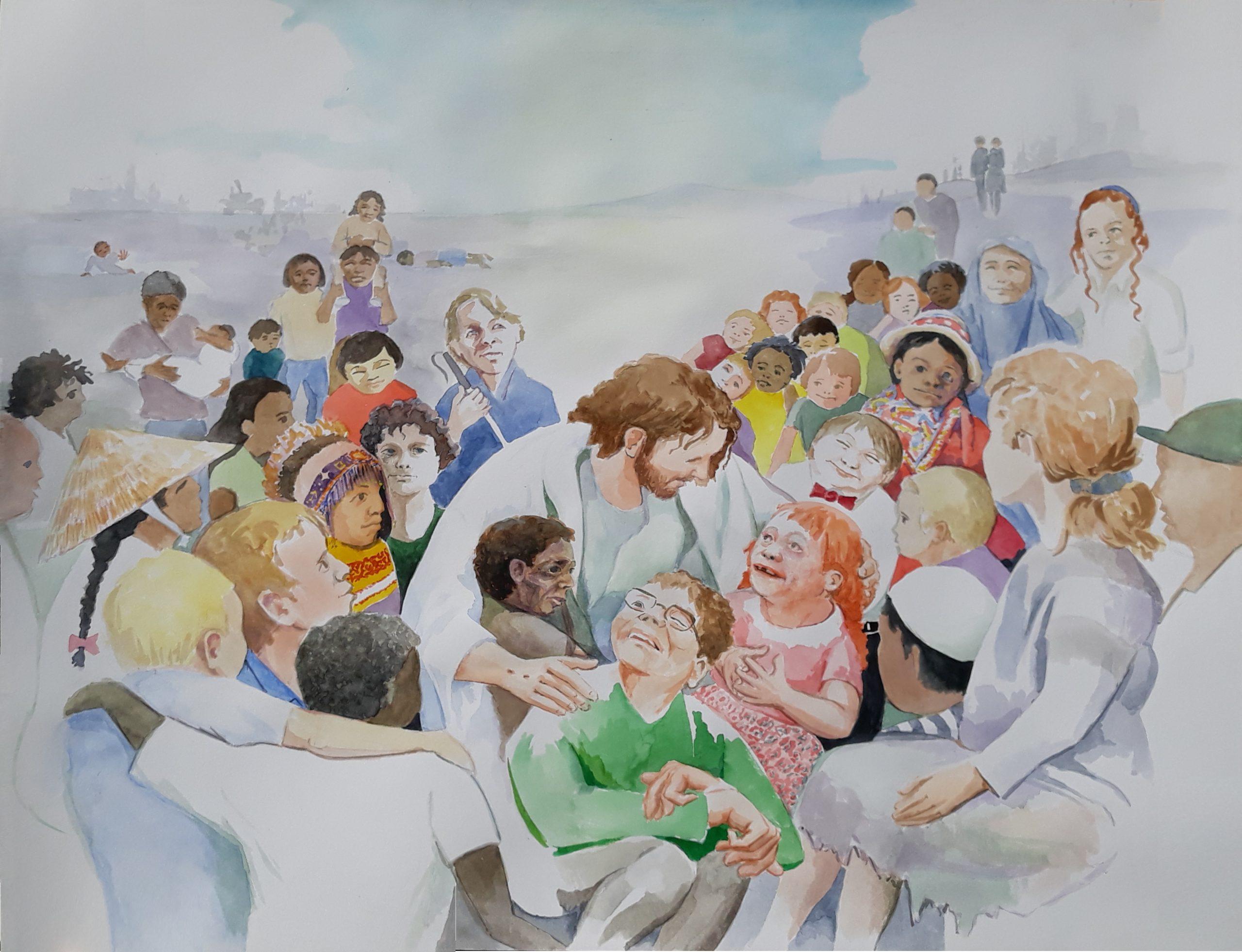 858 allemaal kinderen Gods