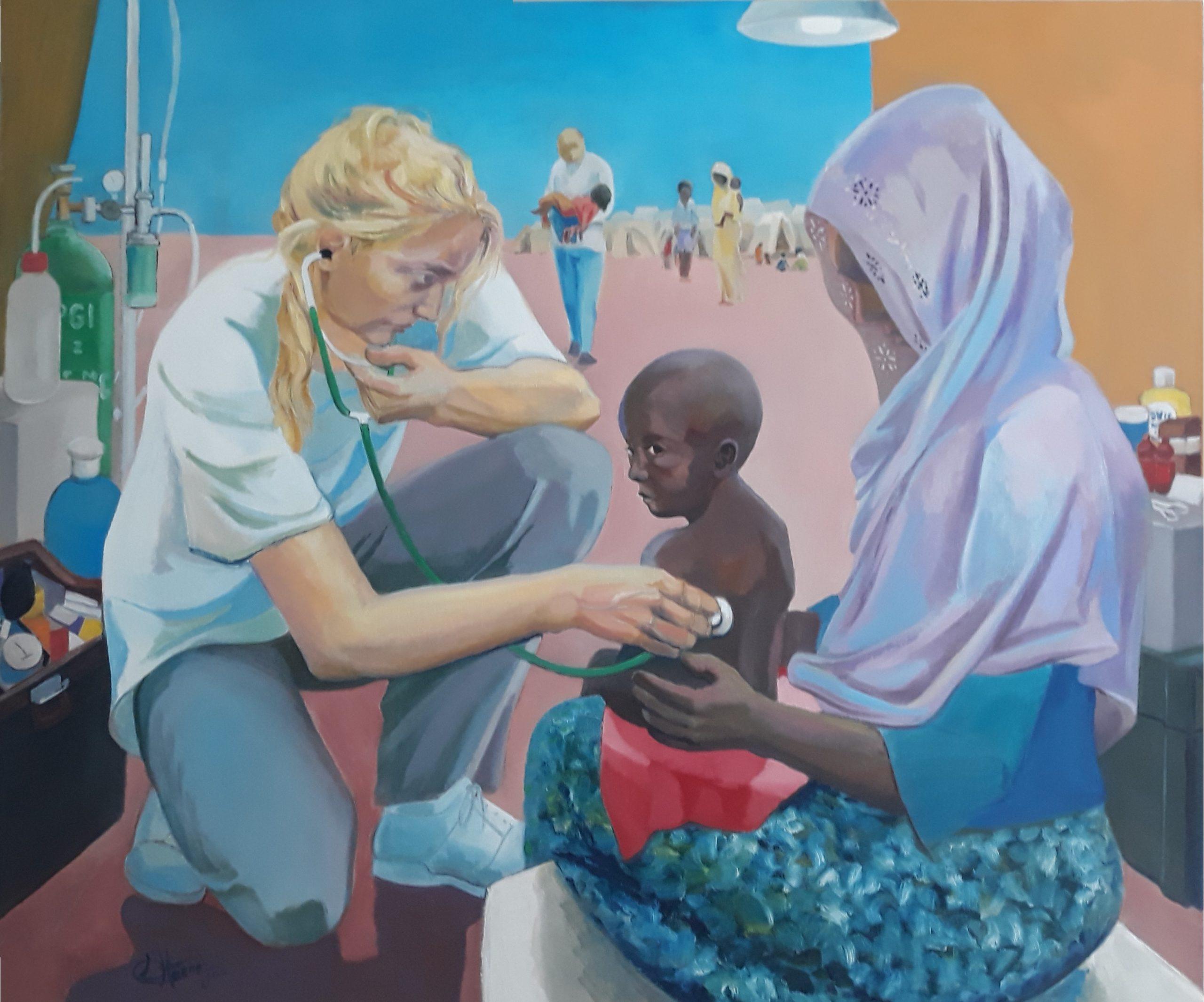854 arts zonder grenzen 120 x 100