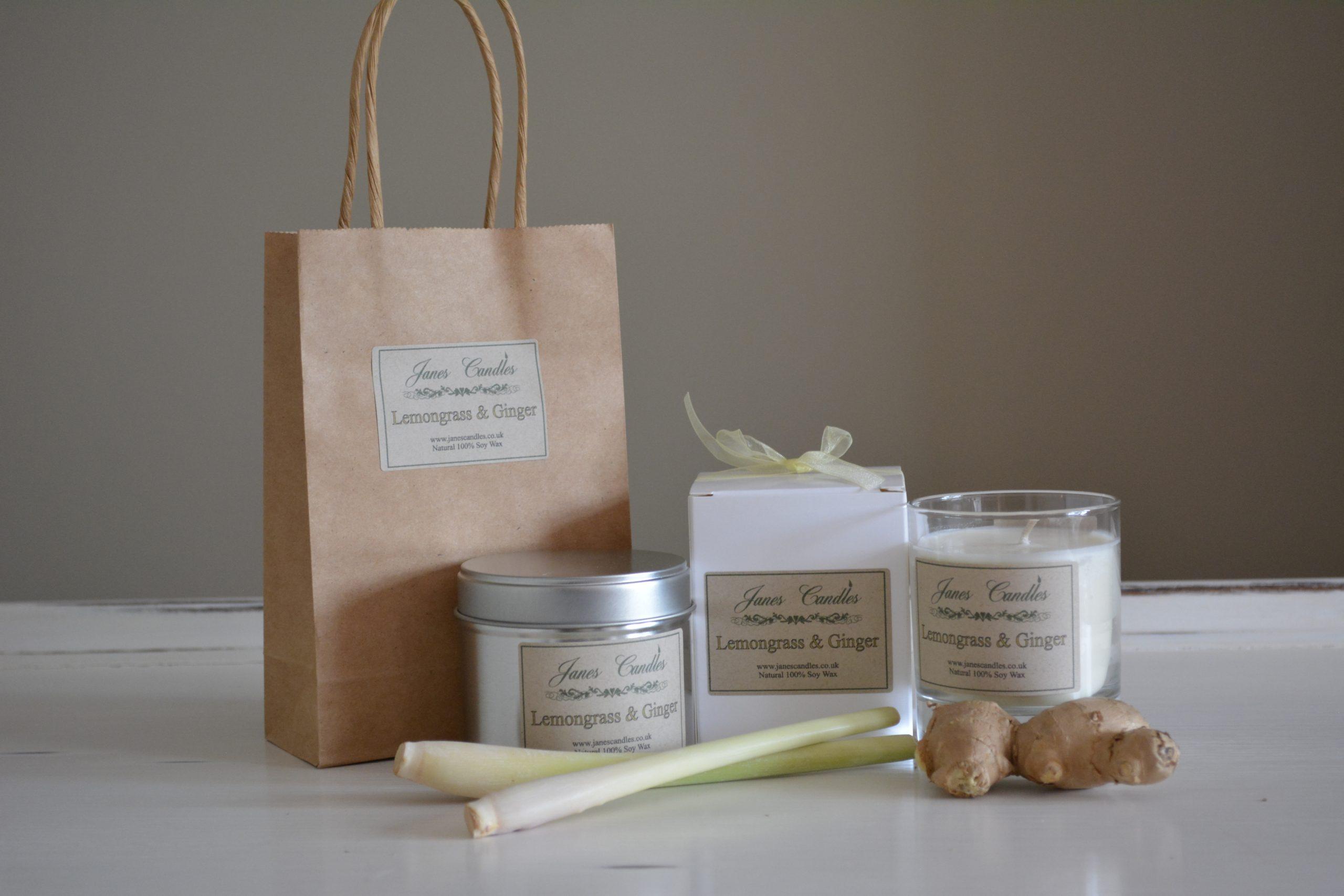 Lemongrass & Ginger Candles