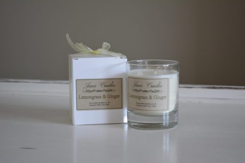 Lemongrass & Ginger Jar Candle