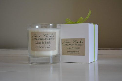 Lime & Basil Jar Candle