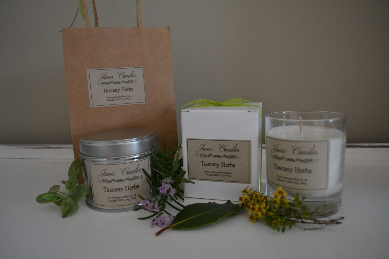 Tuscany Herb 20cl candles