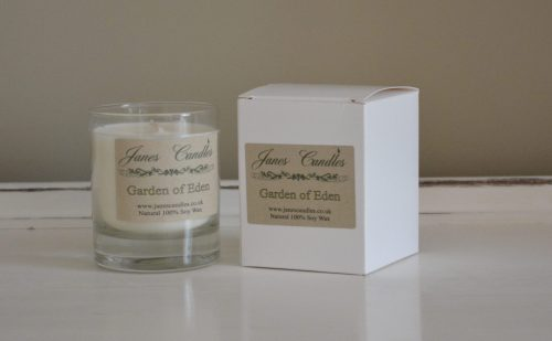 Garden of Eden Jar Candles