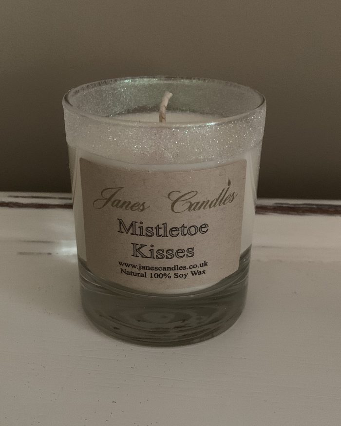 Mistletoe Kisses Jar Candle