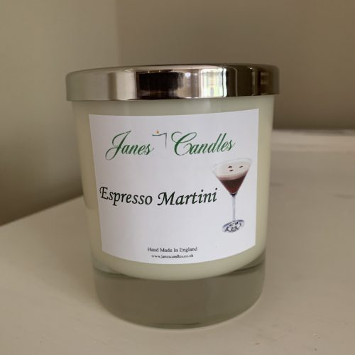 Espresso Martini Large Candle