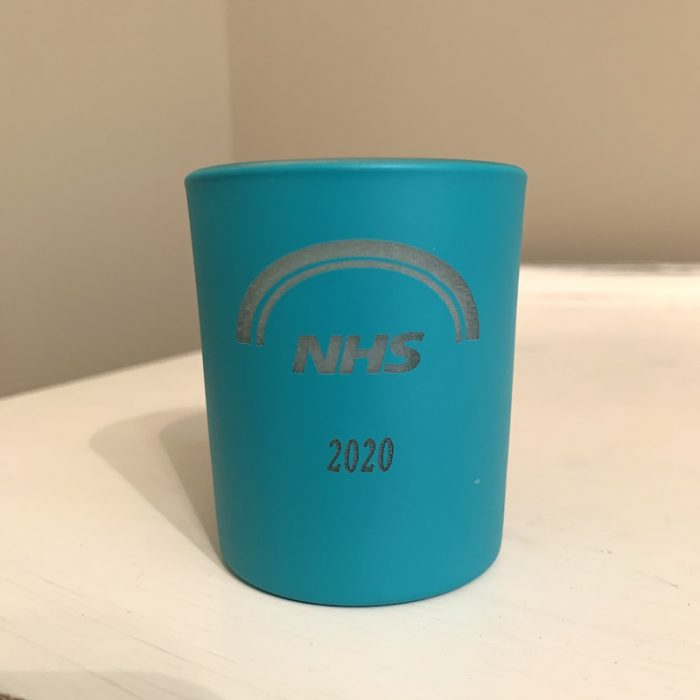 NHS candle
