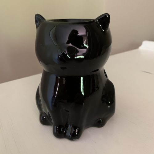 Black cat wax melter oil burner