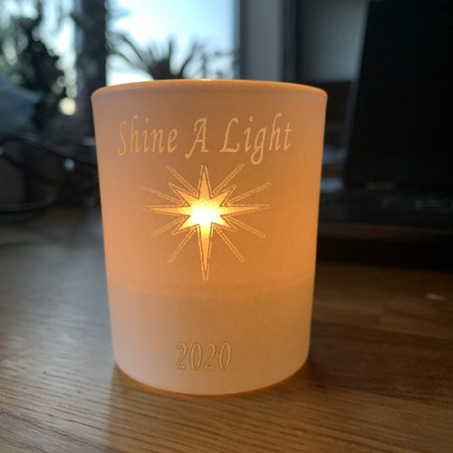 Shine a light candle