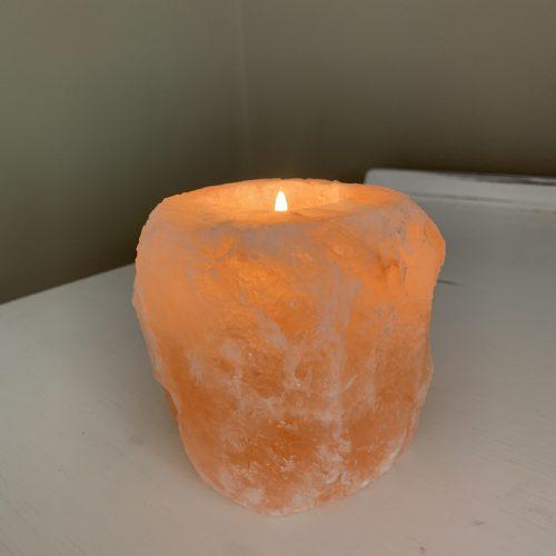 Salt Lamp lit up