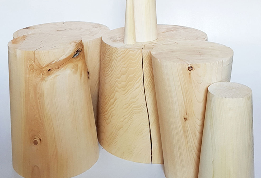BUBLIK Tisch, Hocker und Skulptur | Jan Tesche | Möbelunikate & Objekte