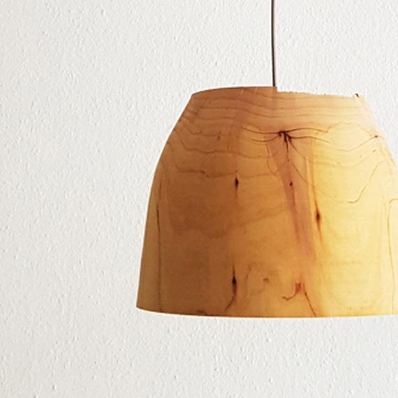MARINA Lampenschirm aus Zedernholz   Jan Tesche   Möbelunikate & Objekte