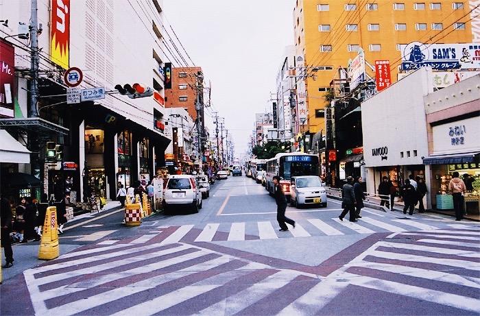 Kokusaidori in Naha, Okinawa