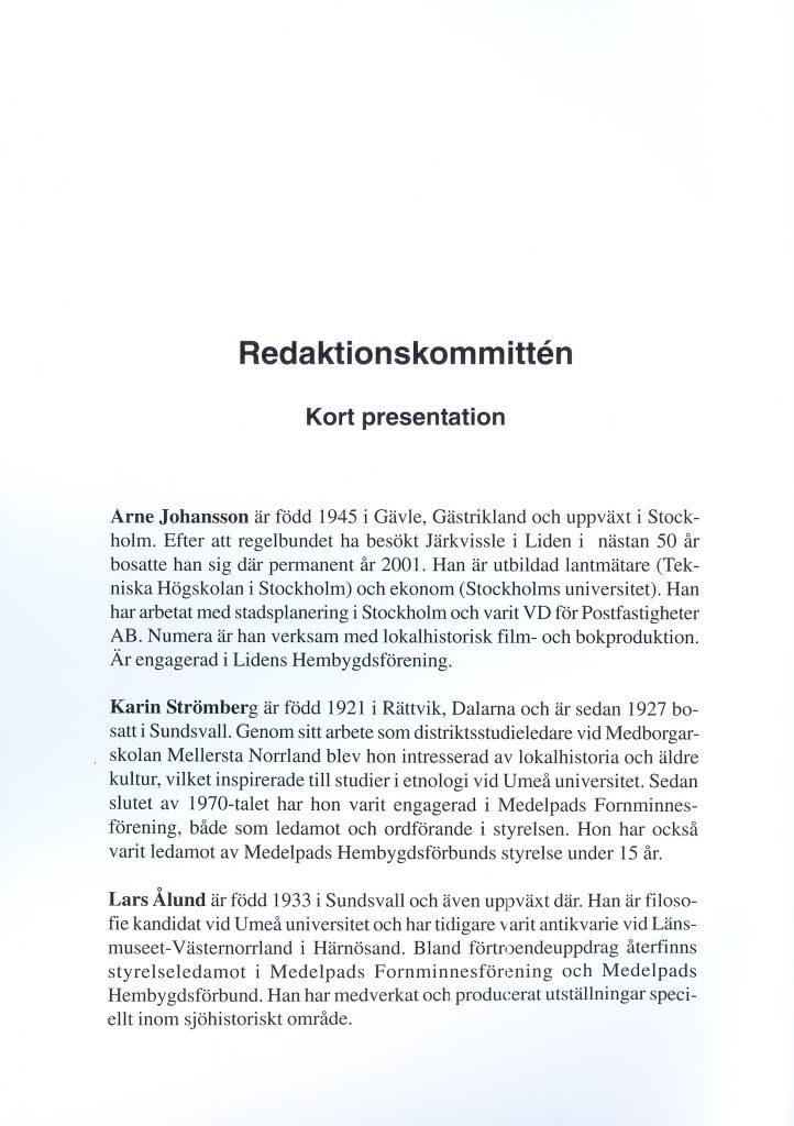 6) Redaktionskommittén