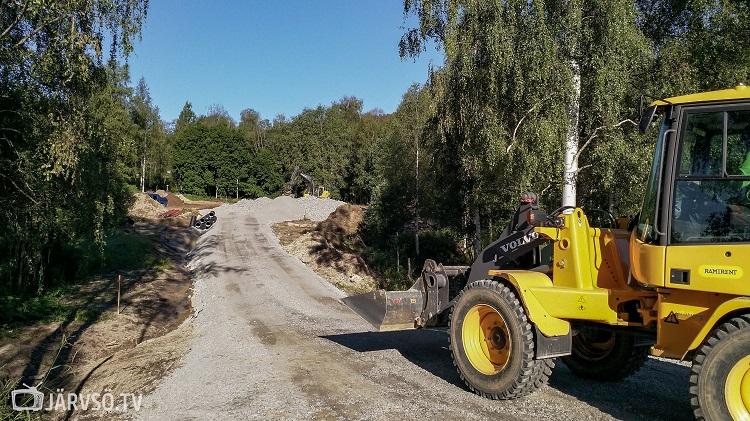 Byggstart för Pumptrack 2 i Järvsö