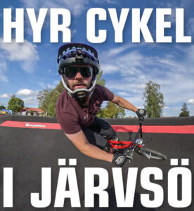 Hyr cykel i Järvsö