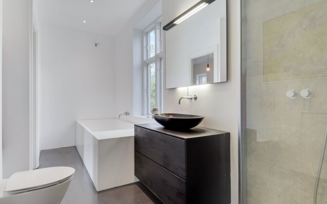 totalrenovering af badeværelse
