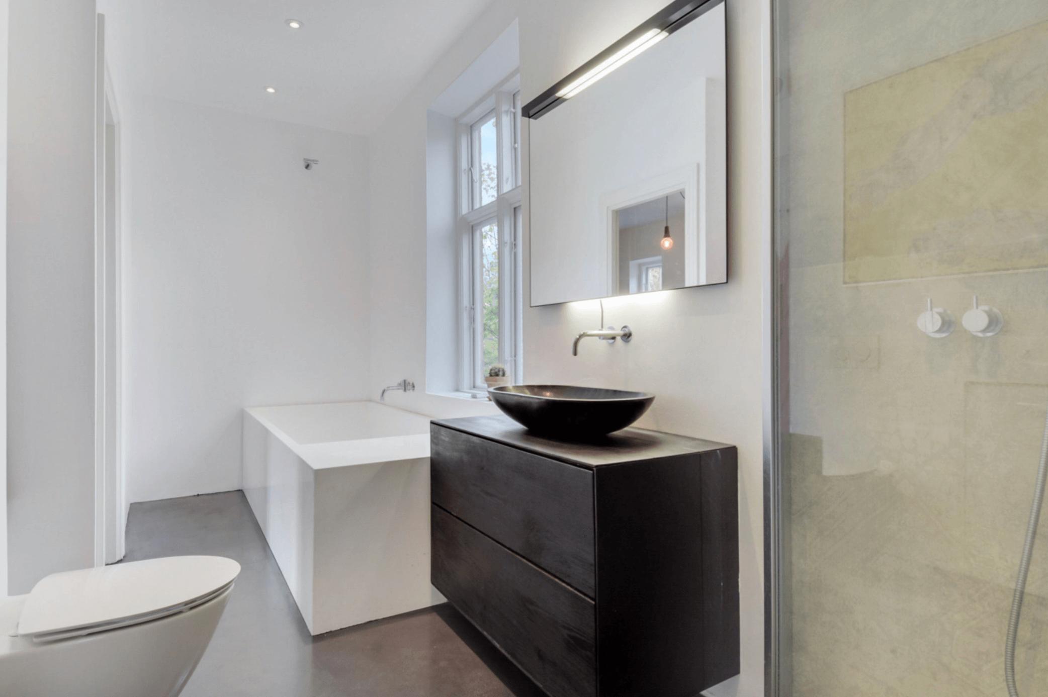 totalrenovering af badeværelse efter