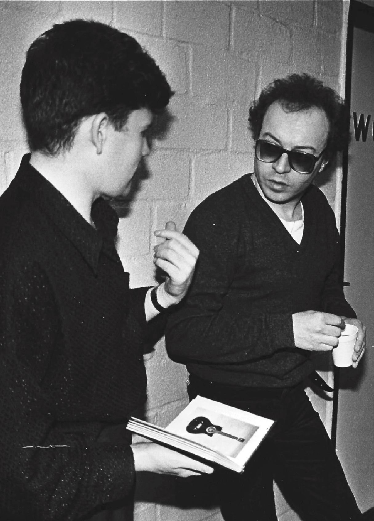 Jean-Marie & Charlie Burchill