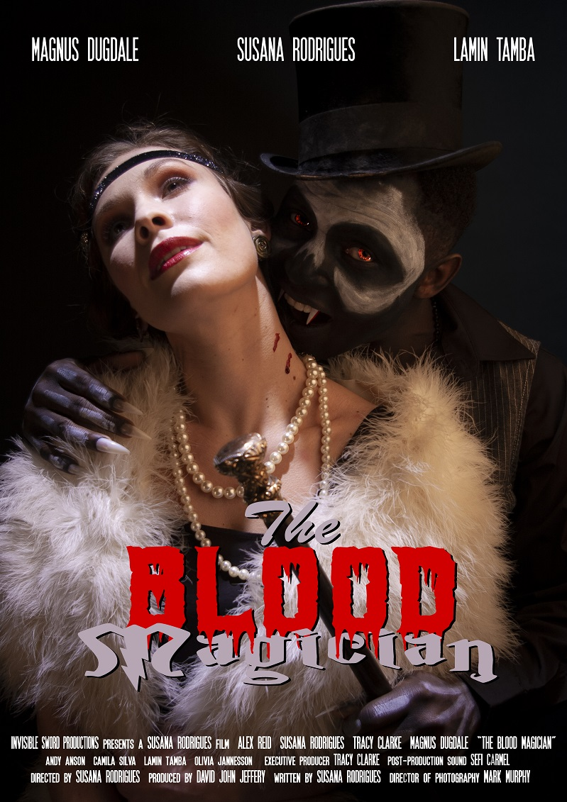 Lamin Tamba gets a lead role in The Blood Magician