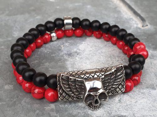 Stoer armband met skull