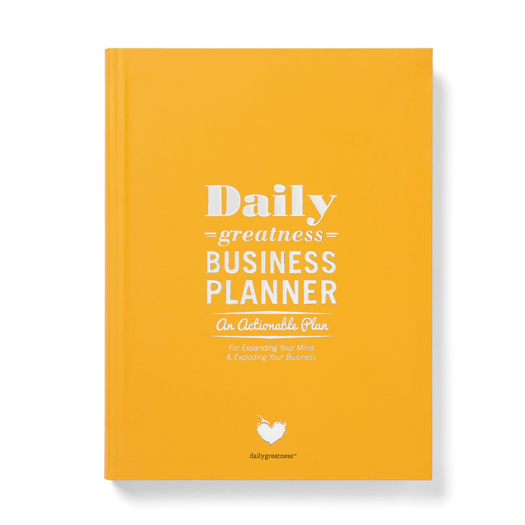 Daily bussiness planner