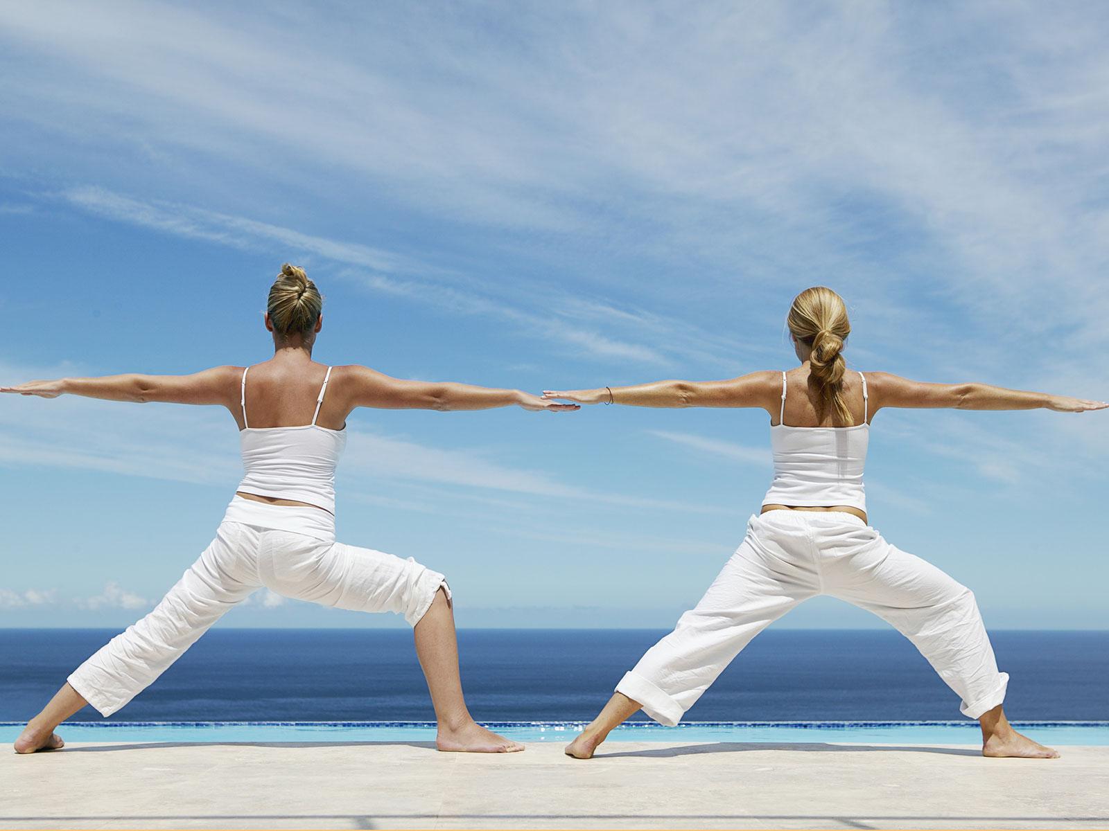 Yoga för lugn och ro